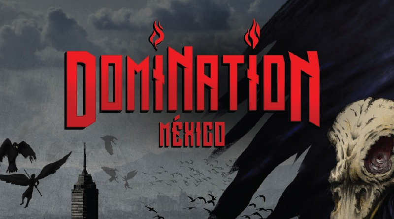 DOMINATION PRESENTA SU CARTEL OFICIAL